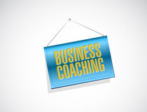Business coaching banner sign concept Stock Photos