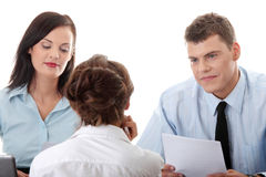Business coaching concept Stock Photography