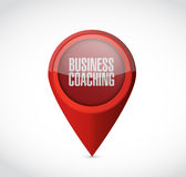 Business coaching pointer sign concept Stock Photography