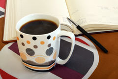 Business coffe Stock Photography