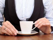 Business Coffee Royalty Free Stock Photos