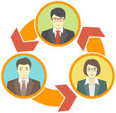 Business Collaboration Concept stock illustration