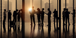 Business Collaboration Corporate Colleagues Partner Concept Royalty Free Stock Image