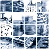 Business collage Stock Photography