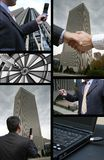Business collage Royalty Free Stock Image
