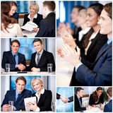 Business collage, innovative concept. Stock Image