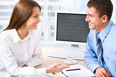 Business colleague Stock Image