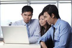 Business colleague working together Stock Photos