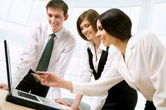 Business colleagues Stock Photo