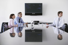 Business Colleagues In Conference Room Stock Photography