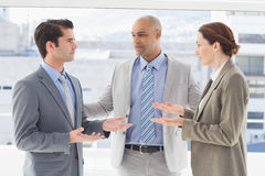 Business colleagues having a disagreement Stock Images
