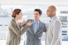 Business colleagues having a disagreement Royalty Free Stock Photo