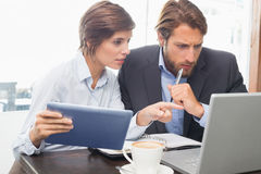 Business colleagues having a meeting Stock Image