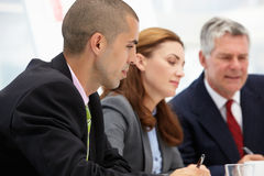 Business colleagues in meeting Stock Image