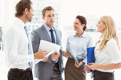 Business colleagues in meeting Stock Images