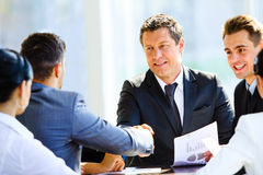 Business colleagues Royalty Free Stock Photo