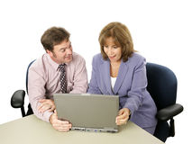 Business Colleagues - Surprise Royalty Free Stock Photo
