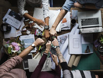 Business Colleagues Together Teamwork Working Office. Business Colleagues Together Working Office royalty free stock images