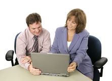 Business Colleagues at Work Royalty Free Stock Photography