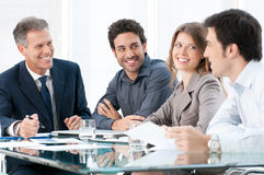 Business colleagues at work Stock Images
