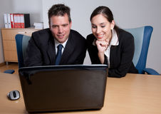 Business colleagues working together Stock Images