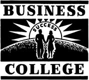 Business College Stock Photography