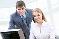 Business collegues Royalty Free Stock Photography