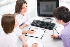 Business collegues Royalty Free Stock Image