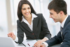 Business collegues Stock Image