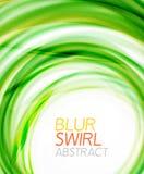 Business color swirl, minimal design template Stock Photo
