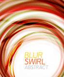 Business color swirl, minimal design template Royalty Free Stock Images