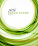 Business color swirl, minimal design template Royalty Free Stock Image