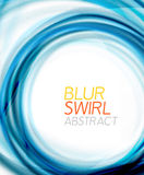 Business color swirl, minimal design template Royalty Free Stock Photo