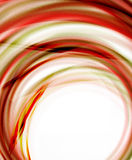 Business color swirl, minimal design template Stock Images
