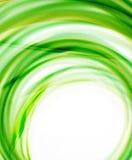 Business color swirl, minimal design template Stock Image
