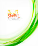 Business color swirl, minimal design template Royalty Free Stock Photography