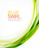 Business color swirl, minimal design template Stock Image