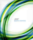 Business color swirl, minimal design template Stock Photography