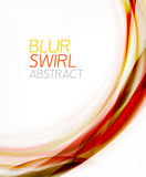 Business color swirl, minimal design template Stock Photos