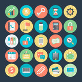 Business Colored Vector Icons 1 Royalty Free Stock Photos