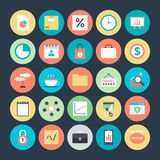 Business Colored Vector Icons 6. Here is useful and trendy Business icons set. Hope you can find a great use for them in finance, money, banking, and statistics Royalty Free Stock Photos