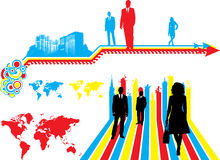 Business colors Stock Photography