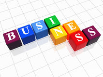 Business in colour Stock Image