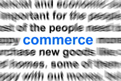 Business  and commerce concept Stock Photos