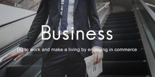 Business Commercial Company公司发展概念 图库摄影