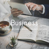 Business Commercial Company Corporate Growth Concept Royalty Free Stock Photo