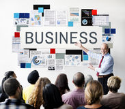 Business Commercial Corporate Enterprise Firm Concept Royalty Free Stock Photography