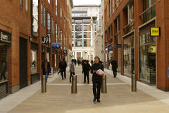 Business and Commercial Street London Stock Images