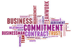 Business commitment Royalty Free Stock Photography