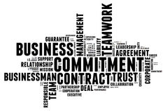 Business commitment Royalty Free Stock Images